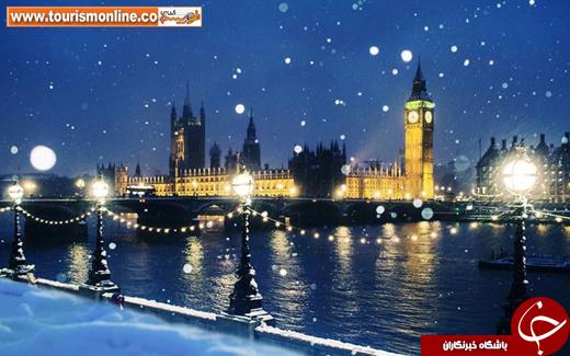 عکس/ زیباترین شهرهای برفی دنیا