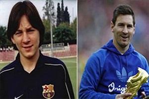 فیلمی از ستارگان فوتبال قبل و بعد از شهرت