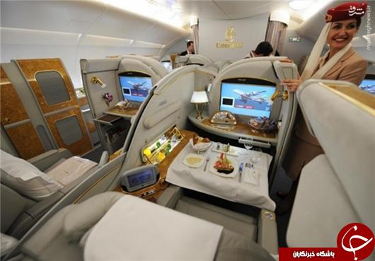 تصاویری از هواپیمای لوکس باشگاه آرسنال
