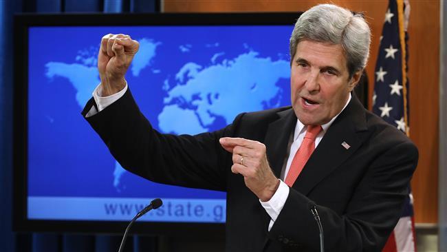 جان کری: انگلیس مانع اجرای طرح اوباما برای حمله به سوریه شد