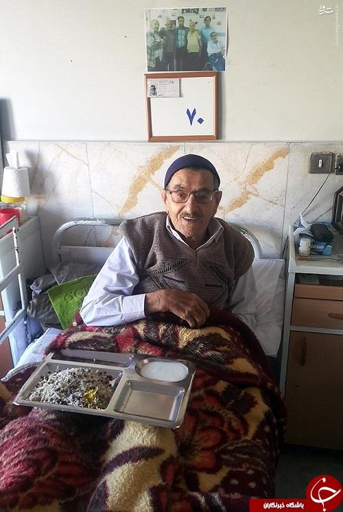 گفتگو با پیرمرد مشهور تلگرامی که همچنان دخترش را صدا میزند/ کشف مستاجری که 44 سال است در«کهریزک»زندگی میکند!+عکس