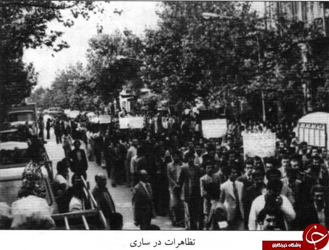 18 دی برگ زرینی از شناسنامه انقلاب اسلامی در ساری+ تصاویر