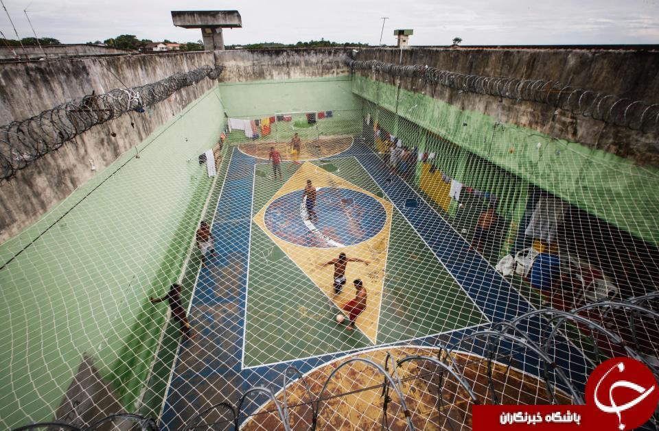 تصاویر یکی از زندان های مخوف برزیل+(18+)