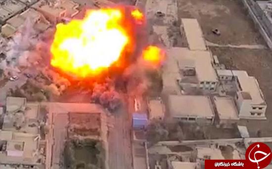 تأثیرات انفجارها در موصل +تصاویر