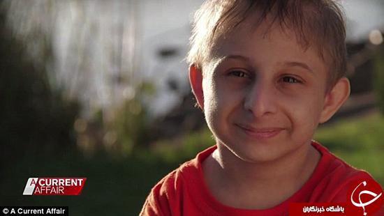 کوچکترین پسر جهان را ملاقات کنید +تصاویر