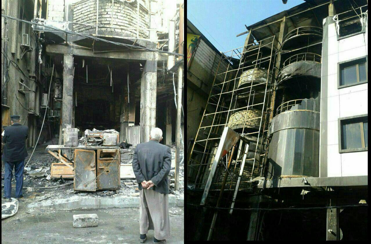 ۵ کشته و ۲ مجروح در حادثه آتش سوزی هتل در کربلا/ زائران، قربانی شرکت سیاحتی غیر مجاز شدند + عکس