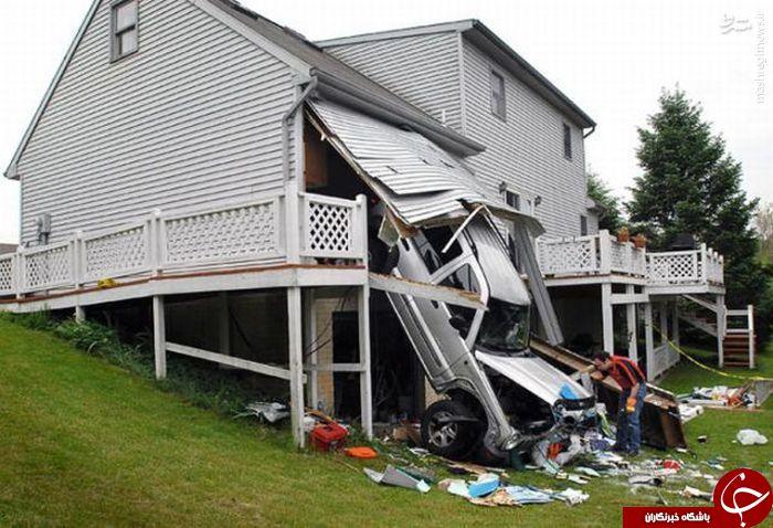 عجیبترین حوادث رانندگی!