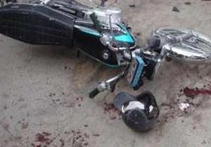 تصادف مرگبار کامیون با موتور سیکلت در بزرگراه امام علی(ع)