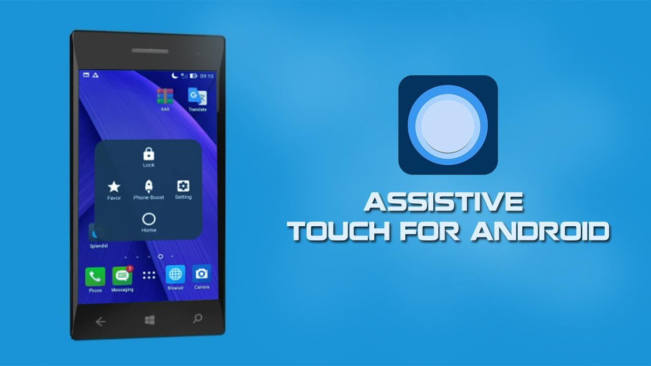 دکمه شناور آیفون برای اندروید با دانلود Assistive Touch for Android