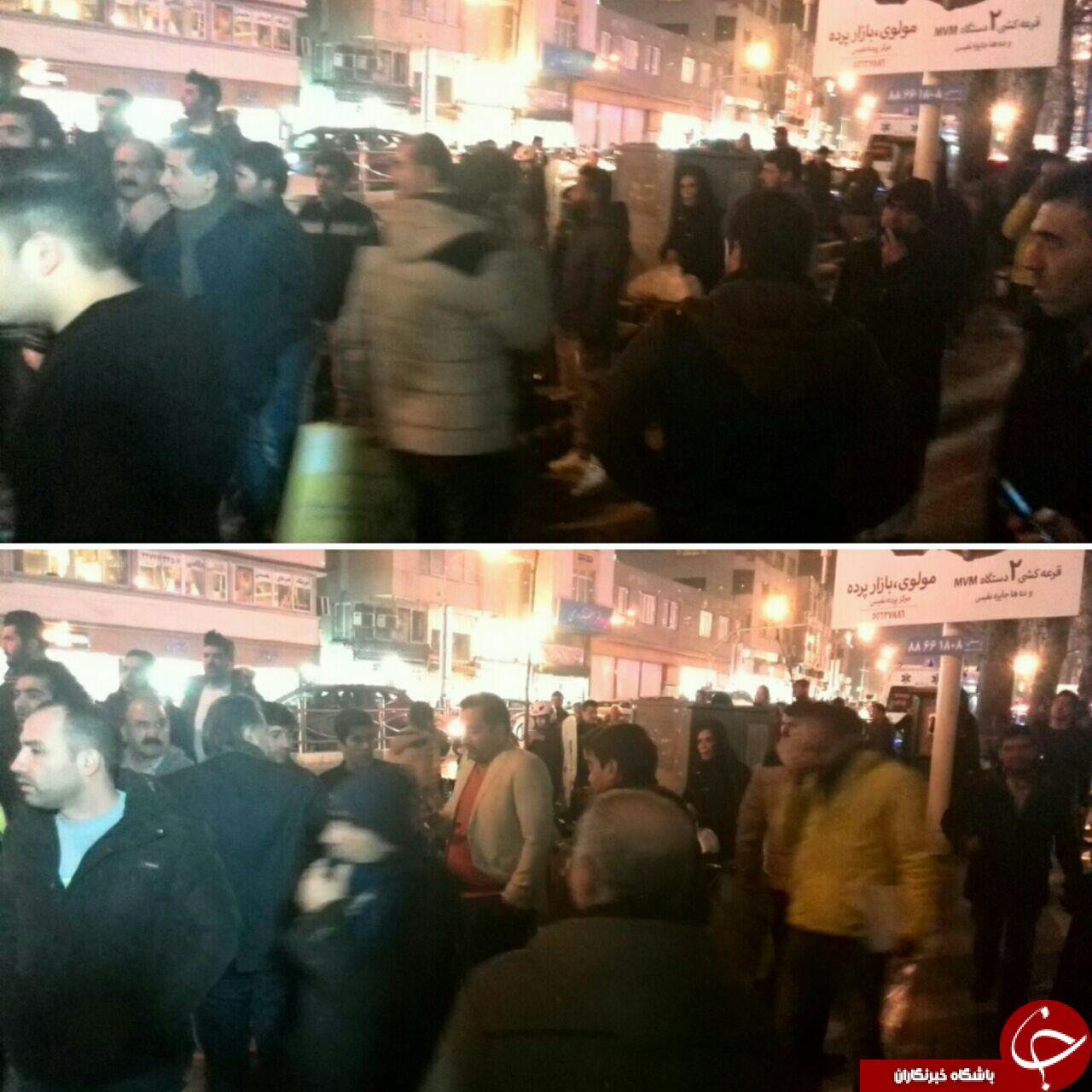 تصاویر از بیمارستان شهدای تجریش بعد از درگذشت آیت الله هاشمی رفسنجانی
