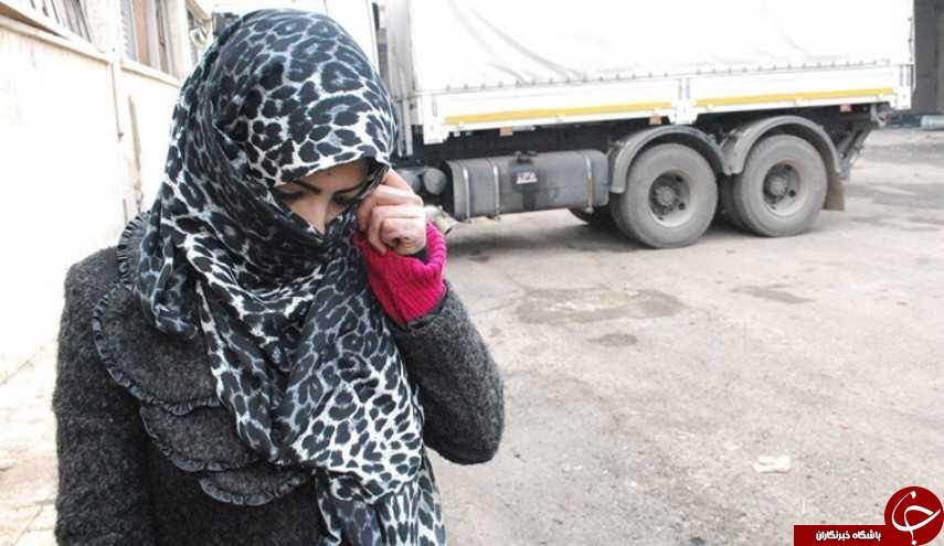 کاری که تروریستها با زنان شهر حلب میکردند + تصاویر