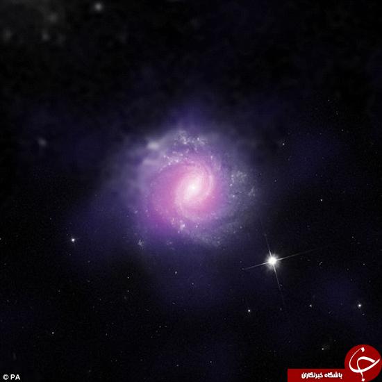 سیاهچالههای مخفی در کهکشانهای دیگر +تصاویر