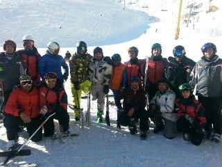 نفرات برتر اسکی آلپاین مشخص شدند