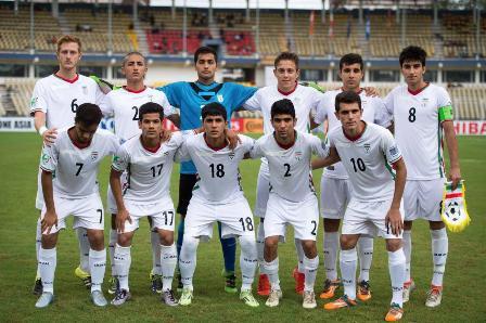 اعلام ترکیب تیم ملی فوتبال نوجوانان برابر سن پترزبورگ
