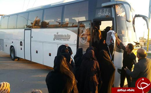کاروان اعزامی مراسم ارتحال آیت الله هاشمی رفسنجانی +فیلم وتصاویر