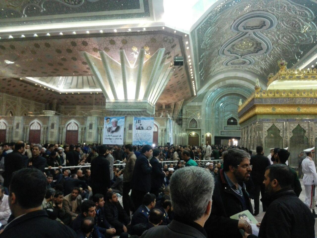حرم امام راحل آماده برگزاری مراسم تدفین آیتالله هاشمی شد
