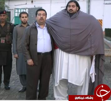 مرد 440 کیلویی پاکستانی روزانه چقدر غذا میخورد؟ +تصاویر