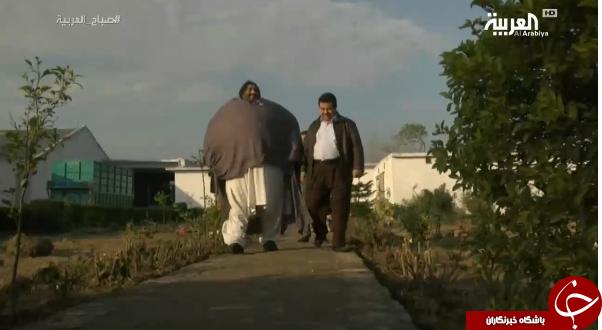 مرد 440 کیلویی روزانه چقدر غذا میخورد؟ + تصاویر