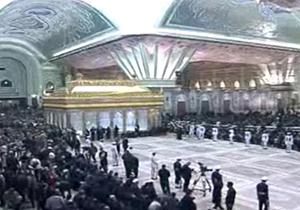 حال و هوای حرم امام خمینی (ره) قبل از مراسم خاکسپاری + فیلم