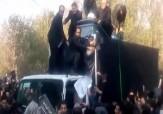 باشگاه خبرنگاران - همراهی باشکوه مردم در بدرقه آیت الله هاشمی رفسنجانی به خانه ابدی! + فیلم
