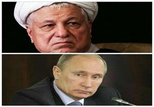 پوتین درگذشت آیت الله هاشمی رفسنجانی را تسلیت گفت