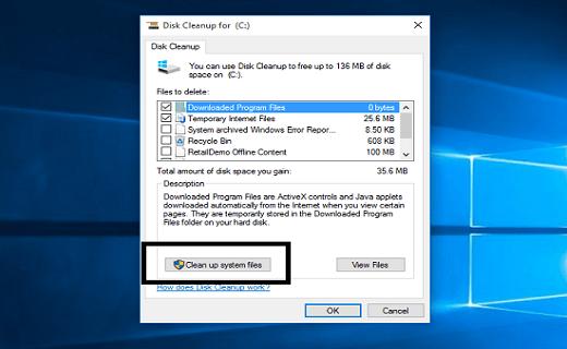ابزار Disk Cleanup چه فایل هایی را از ویندوز حذف می کند؟