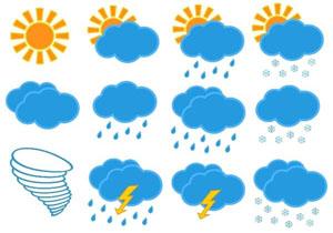 بارشهای پراکنده در ساحل دریای خزر رخ میدهد+جدول