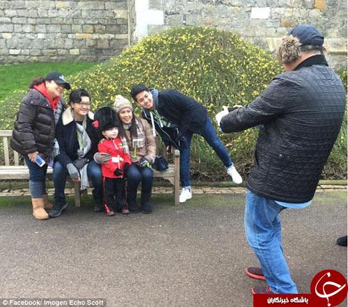 پسری 4 ساله کوچکترین محافظ سلطنتی انگلیس+ تصاویر