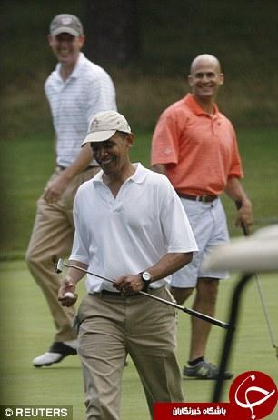 باراک اوباما ساقدوش داماد شد +تصاویر