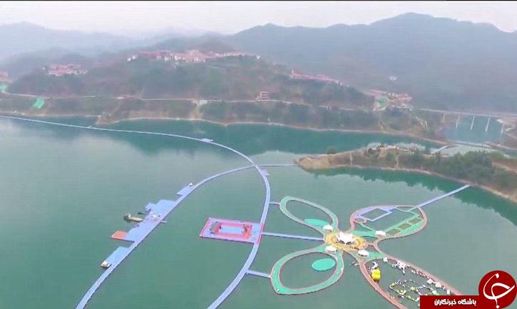 بزرگ ترین پل شناور جهان افتتاح شد+ تصاویر