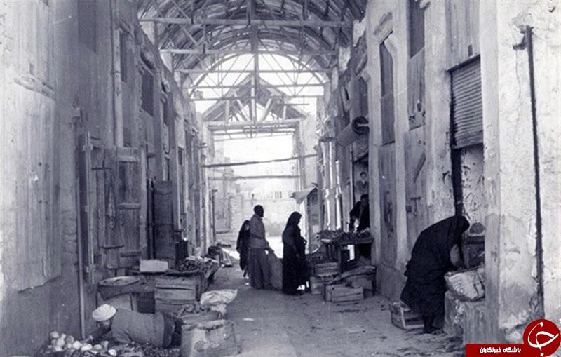 بازار قدیم بوشهر + تصویر