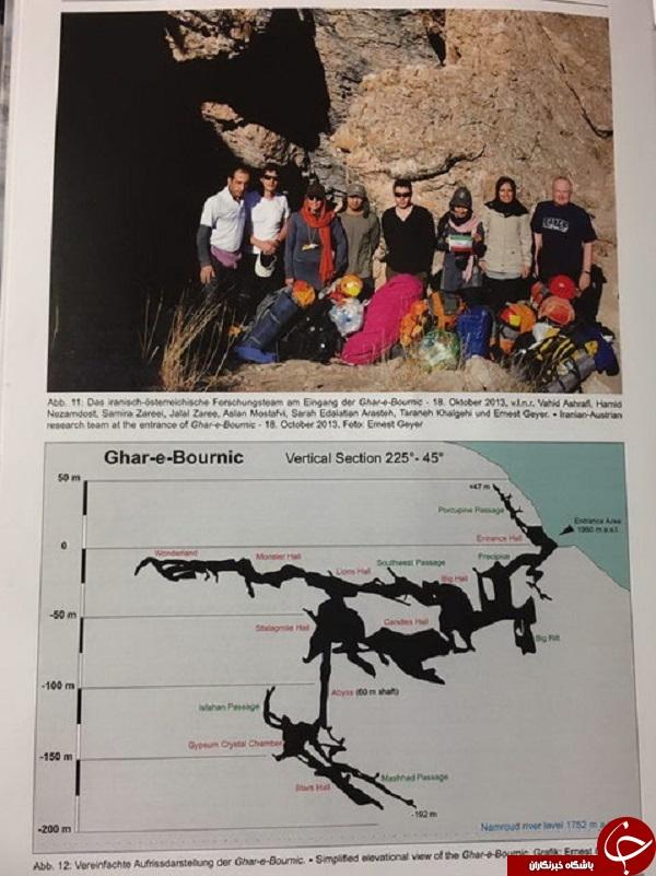 نقشههای طولانیترین غار تهران به اتریش رسید