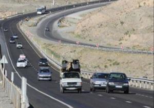 ترافیک روان و جوی آرام در جادههای کشور/ پونل – خلخال مسدود است