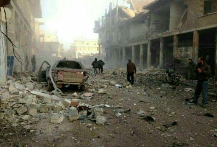 واکنش موشکی مقاومت به بمباران فوعه و کفریا/ شهر «بسیمه» در تسلط کامل ارتش سوریه + تصاویر