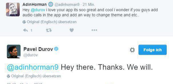 قابلیتهای جدید تلگرام در راه است +سند