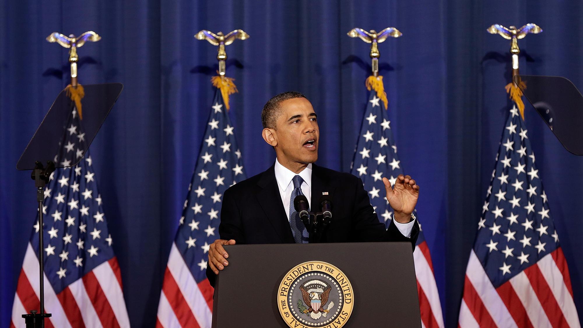 لسآنجلس تایمز: میراث اوباما مداخله نظامی در هفت کشور مختلف است