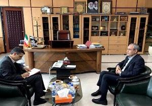 دیدار استاندار اردبیل با مدیرعامل شرکت راه آهن کشور