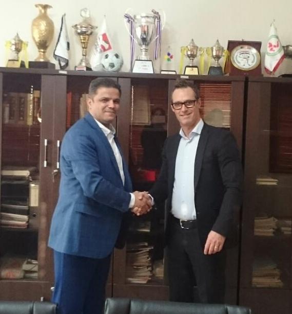 دیدار رئیس گروه ورزش و تغذیه اروپا با محمد علیپور