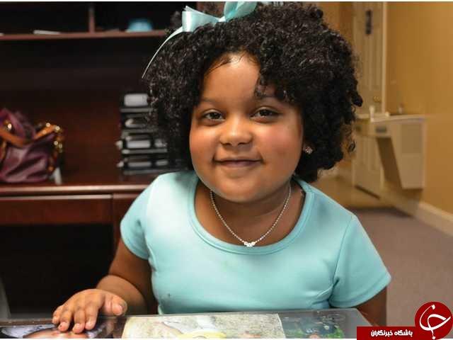 دختر چهارسالهای که هزار کتاب خوانده!+ عکس