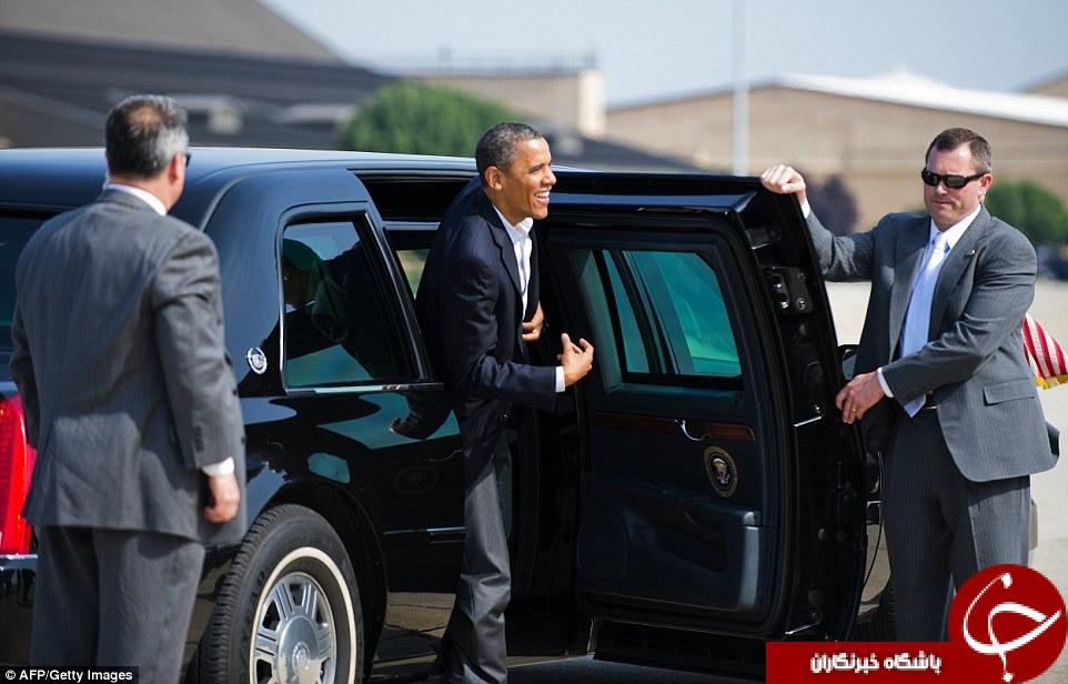 خودروی زرهی ترامپ؛ مجهز به گاز اشکآور و بانک خون!+تصاویر