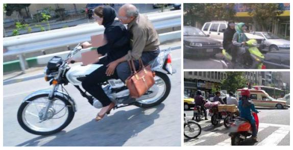 قوانین درباره مجاز یا غیرمجاز بودن موتورسواری بانوان چه می گویند؟!