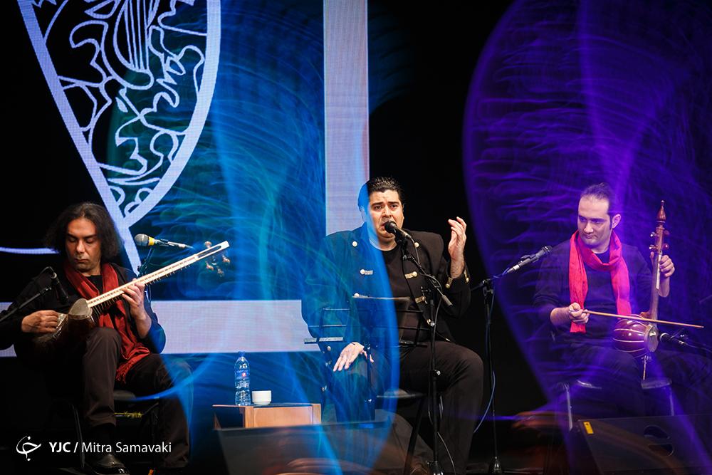 جشنواره موسیقی فجر -شب سوم