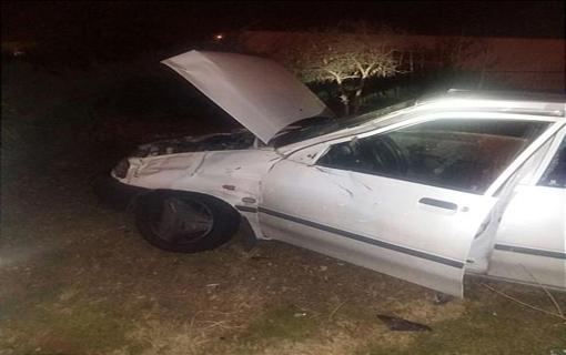 تصادف شدید پژو و پراید در بزرگراه همت/ راننده خودروی پژو به شدت مجروح شد + تصاویر