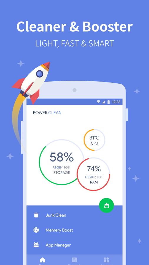 Power Clean Optimize Cleaner 2.9.2.1 بهینه سازی گوشی و تبلت اندرویدی // در حال کار