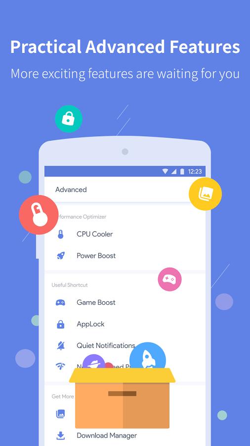 Power Clean Optimize Cleaner  بهینه سازی گوشی و تبلت اندرویدی // در حال کار