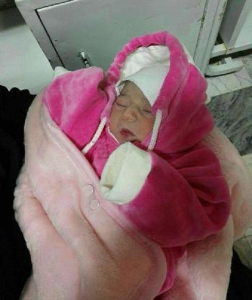 کشف نوزاد تازه متولدشده در سطل زباله