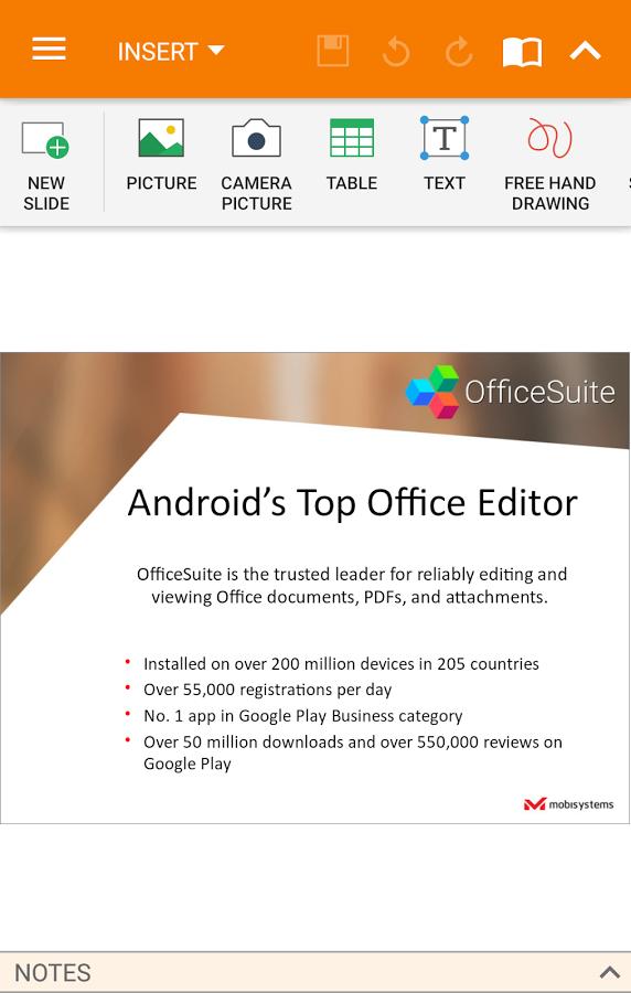 دانلود OfficeSuite 8 Pro برای اندروید /قدرتمندترین آفیس اندروید با پشتبانی از زبان فارسی و PDF