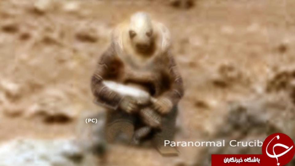 سرباز یخ زده مریخی را پیدا کرده ایم/تصاویر
