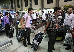 دانشجویان فاقد کارت پایان خدمت بدون وثیقه مجوز خروج می گیرند