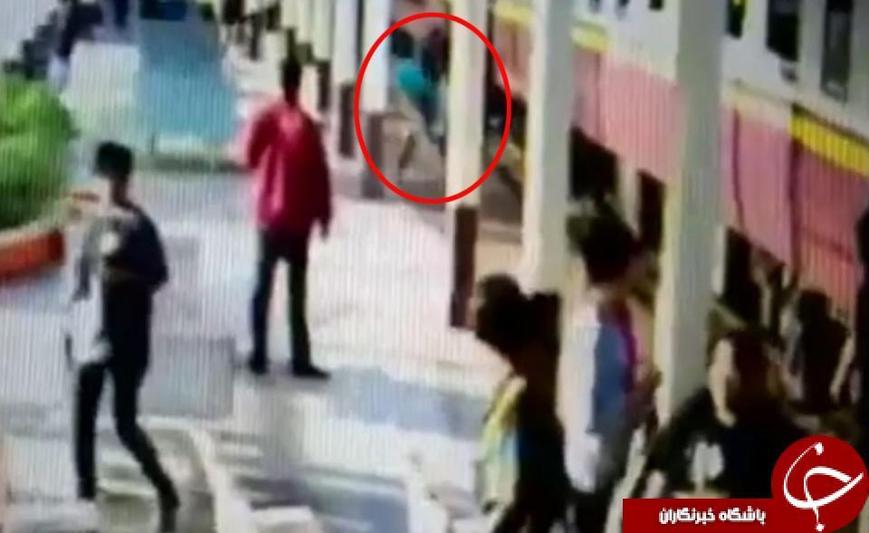 مرد تایلندی با خوش شانسی از مرگ گریخت/تصاویر